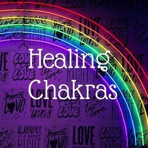 NATURAL Gems Healing Chakra Items Section